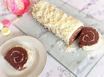Chocolate Keju Roll