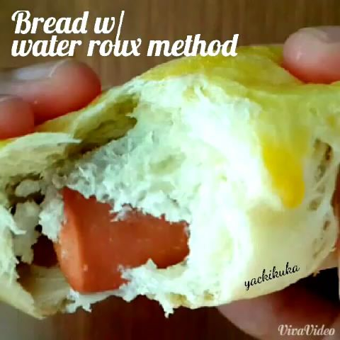Water Roux Bread / Thangzhong Method
