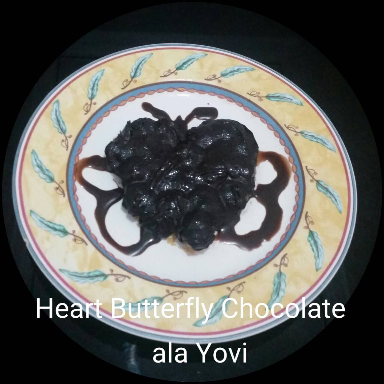 Heart Butterfly Chocolate