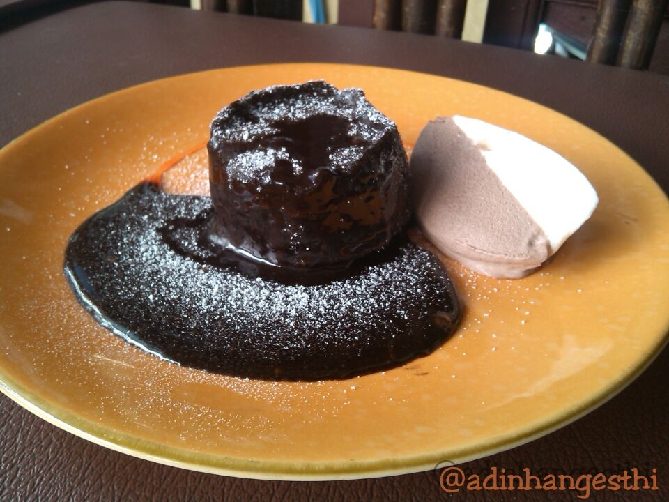 Steam Lava Cake