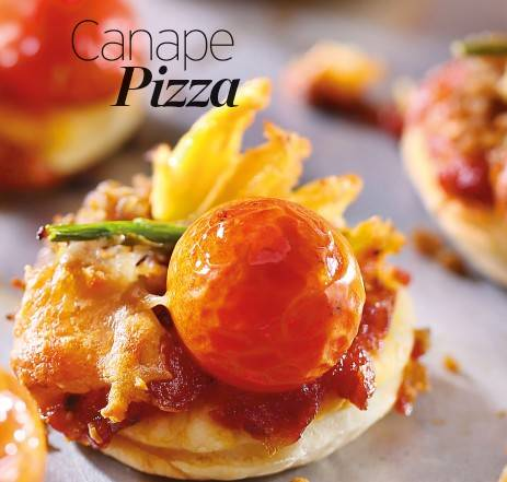 Canape Pizza