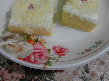 Steamed Cheese Cake