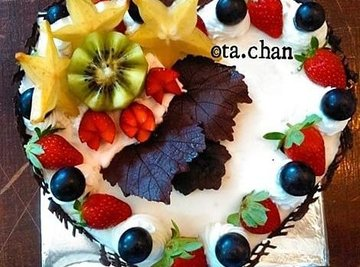 Chocolate Fruit Forest By @Ta.Chan