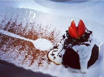 Steamed Chocolate Pudding By @Ta.Chan