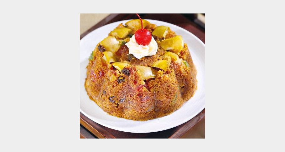 Apple Steamed Pudding